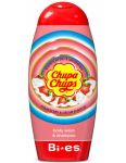 Bi-es Chupa Chups sprchový gél 2v1 250ml Strawberry & Cream Flavour