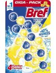 Bref WC blok Power Aktiv 4x50g Lemon