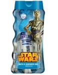 Disney Star Wars pena a sprchový gél 400ml