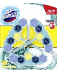 Domestos WC blok Power5 Blue Tropical Sea 3x55g