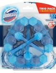 Domestos WC Power5 Blue 3x55g Water Ocean