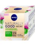 Nivea Naturally Good denný krém proti vráskam 50ml