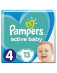 Pampers Active Baby S4 13ks 9-14kg