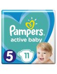 Pampers plienky Active Baby  S5 11ks 11-16kg