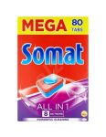 Somat tablety do umývačky MEGA All in One 80ks