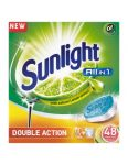 Sunlight tablety do umývačky All in 1 Double Action Citrus 48 ks
